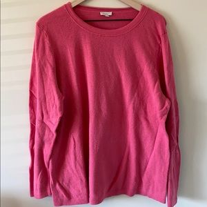 Talbots Woman Pink Sweater
